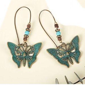 UNIQUE BOHO ANTHRO earrings